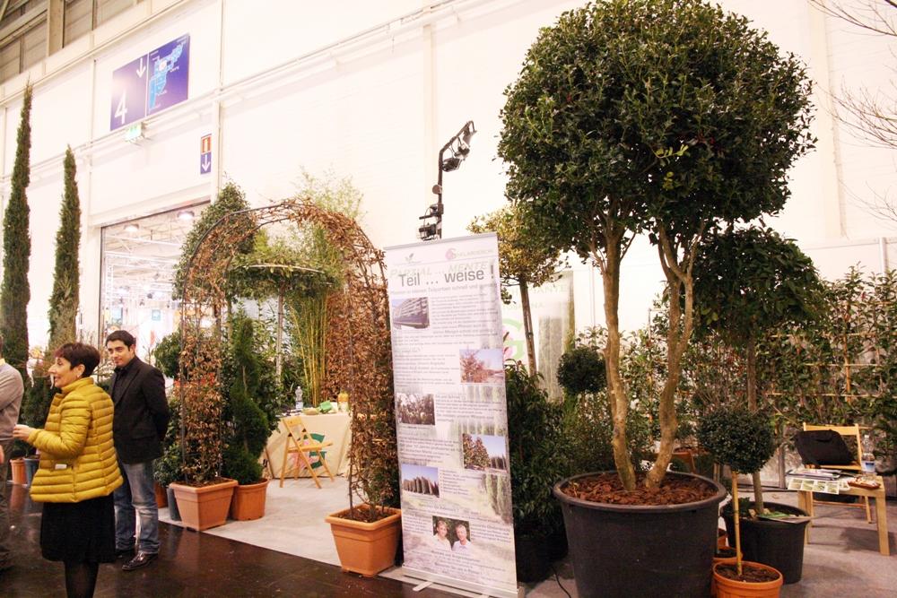 Pflanzenmesse IPM Essen 2014